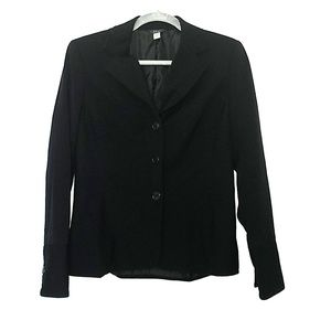 *4/$12* H&W New York suit jacket. Black. Sz 10